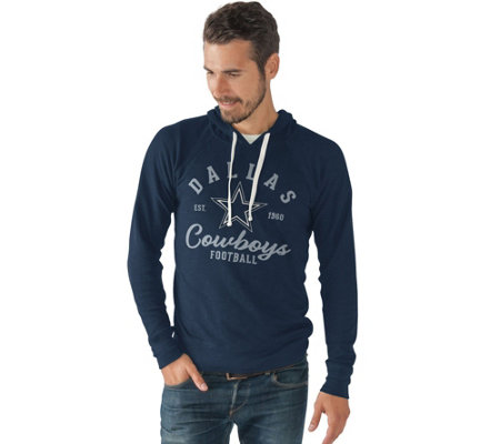 NFL Dallas Mens Long Sleeve Hooded Tee