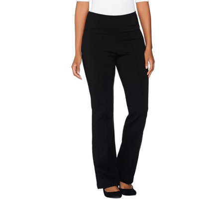 Belle by Kim Gravel Regular Tummy Smoothing Ponte Pants