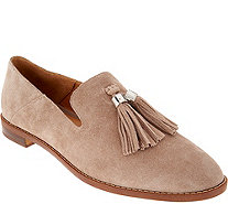 Franco Sarto Suede Loafers with Tassels - Hadden - A294653
