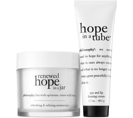 philosophy choose hope renewed hope in a jar & hope in a tube