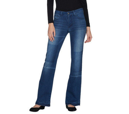 """As Is"" Women with Control Regular My Wonder Denim Boot Cut Jeans"