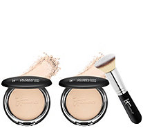 IT Cosmetics Super-Size Celebration Foundation with Brush - A310253