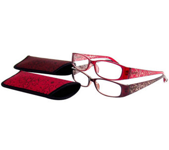 Foster Grant Set of 2 Blanca Bling Readers - A330053
