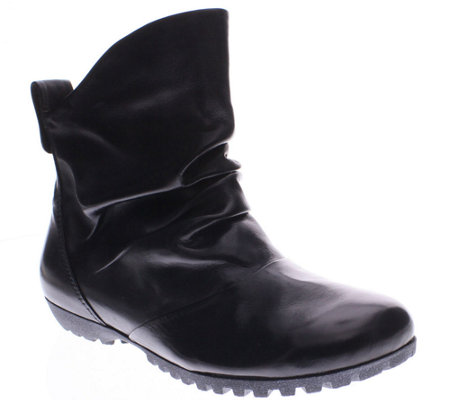 Spring Step Leather Ankle Boots - Ulzana