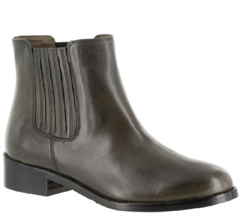 Bella Vita Leather Ankle Boots - Liv-Italy - A337653