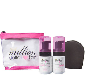 Million Dollar Tan Mermaid Mousse Extreme Travel Set - A339953