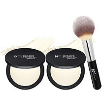 IT Cosmetics Super-Size Bye Bye Pores Pressed w/Brush Auto-Delivery - A346553
