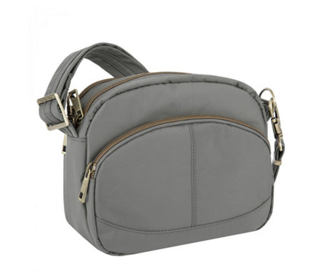 Travelon Signature Collection East/West Shoulder Bag