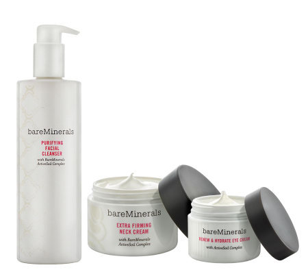 bareMinerals Simply the Best Deluxe Skincare Trio