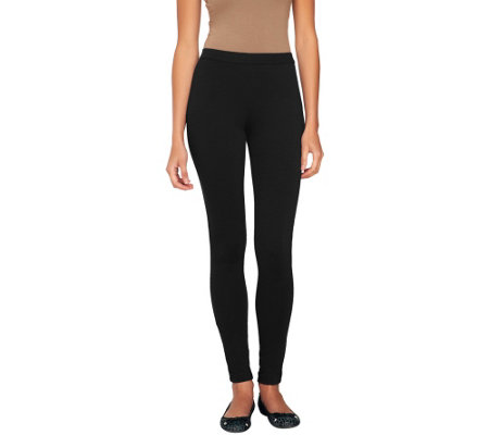 Isaac Mizrahi Live! Regular Ponte Knit Leggings