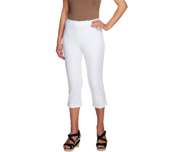 """As Is"" Susan Graver Multi- Stretch Hollywood Waist Side Zip Pants - A262354"