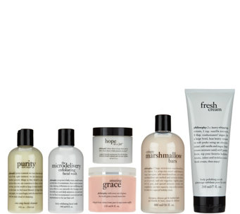 philosophy skincare & body care collection with bag - A265254