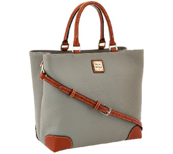Dooney & Bourke Pebble Leather Square Satchel - A268954