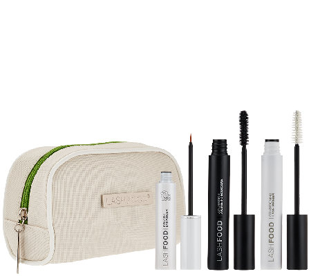 LASHFOOD Powerhouse Eye Lash Essentials Trio