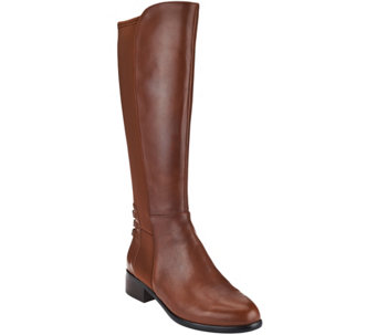 Judith Ripka Leather Tall Shaft Boots - Victoria - A270354