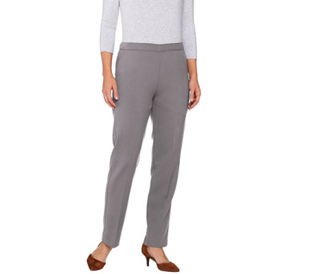 Susan Graver Chelsea Stretch Comfort Waist Pull-On Pants