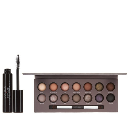 Laura Geller The Delectables Smoky Neutrals Palette w/ Mascara