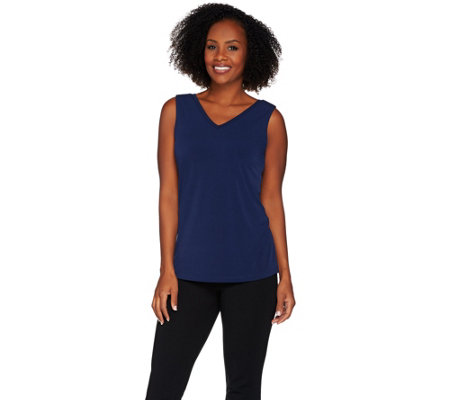 Belle by Kim Gravel Reversible Knit Tank
