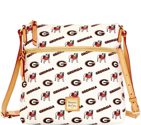 Dooney & Bourke NCAA University of Georgia Crossbody