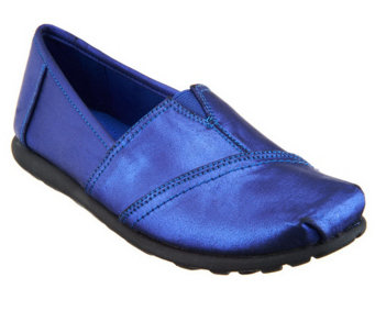 """As Is"" Andrew Geller Cerry Slip-on Shoes with Goring - A287754"