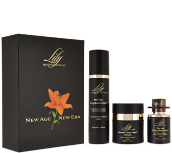 Lily Bioceuticals 3-piece Anti-Aging Kit - A288354
