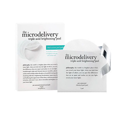 philosophy microdelivery triple-acid peel pads Auto-Delivery