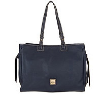 Dooney & Bourke Pebble Leather Tote Handbag -Colette - A296354