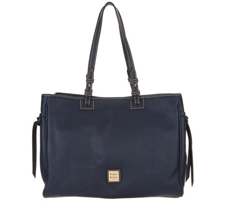 Dooney & Bourke Pebble Leather Tote Handbag -Colette