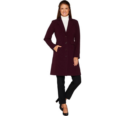 Linea by Louis Dell'Olio Single Breasted Blazer Coat