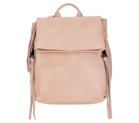 Aimee Kestenberg Leather Flap Backpack