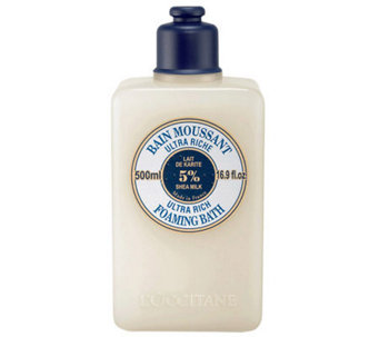 L'Occitane Shea Foaming Cream Bath, 16.9oz. - A324554