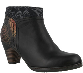 Spring Step L'Artiste Leather Booties - Esben - A355254