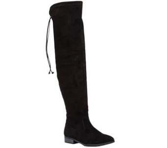 Sole Society Leather Over-the-Knee Boots - Valencia - A355454