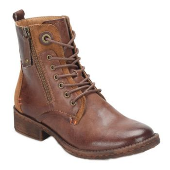 Comfortiva Leather Ankle Boots - Sarango