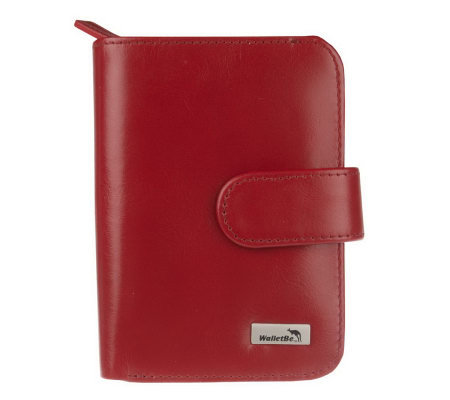 WalletBe Leather Billfold Accordian Women's Wallet
