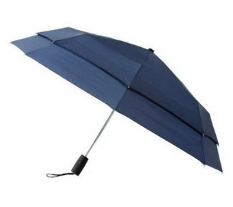 Leighton Falcon Automatic Double Canopy Windefyer Umbrella - A181955