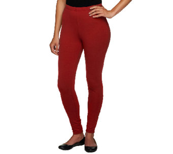 Women with Control Tall Fit Pull-On Knit Leggings - A235955