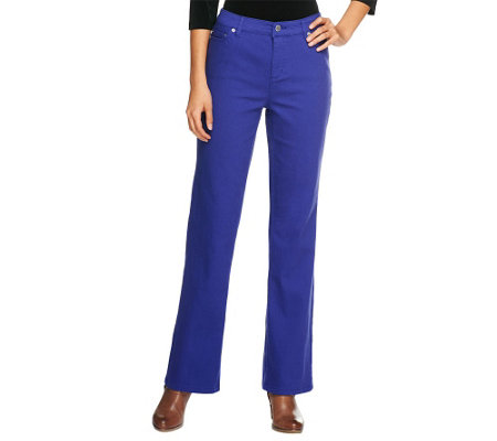 Liz Claiborne New York Petite Jackie Boot Cut 5-Pocket Jeans