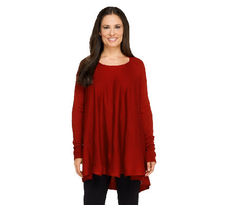 Nicole Richie Collection Convertible Long Sleeve Tunic