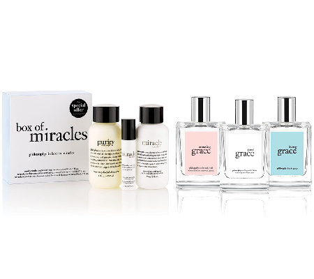philosophy state of grace wardrobe of fragrance trio