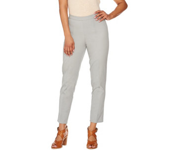 Isaac Mizrahi Live! Tall   24/7 Stretch Ankle Pants w/ Seam - A274555