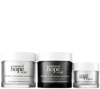 philosophy renewed hope in a jar skincare trio - A282955