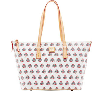 Dooney & Bourke NCAA Ohio State University Zip Top Shopper - A283255