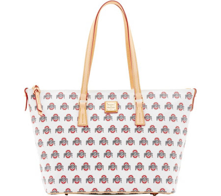 Dooney & Bourke NCAA Ohio State University Zip Top Shopper