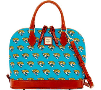 Dooney & Bourke NFL Jaguars Zip Zip Satchel - A285755