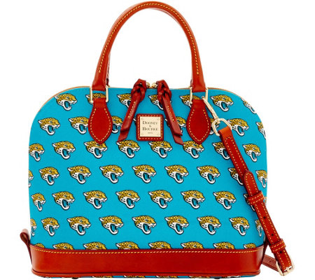 Dooney & Bourke NFL Jaguars Zip Zip Satchel