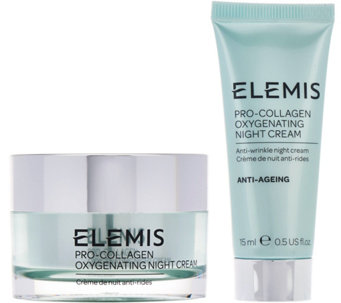 ELEMIS Pro-Collagen Oxygenating Night Cream w/ Travel Size - A287455