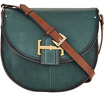 Tignanello Vintage Leather Loredo Saddle Crossbody - A292855