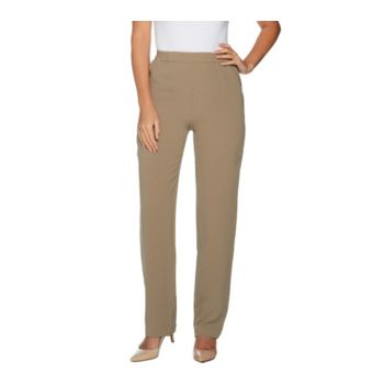Linea by Louis Dell'Olio Regular Crepe Gauze Pull On Pants