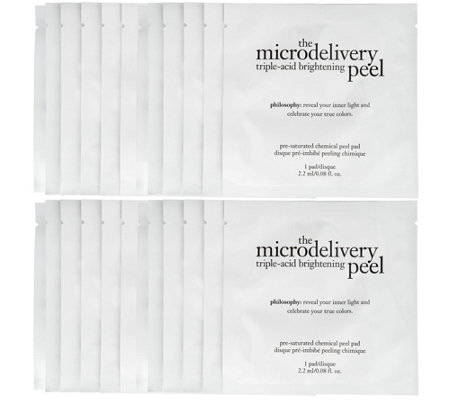philosophy super-size microdelivery peel pad set Auto-Delivery